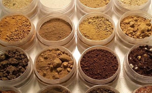 انواع خاک